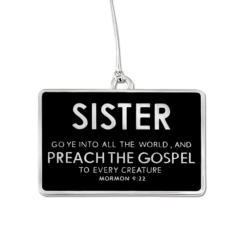 RM - Ornament - Sister Badge Ornament<BR/>姉妹宣教師オーナメント