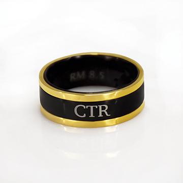 (サイズ限定US 8.0)RM - CTR Ring - Diplomat CTR Ring<BR> CTRリング ディプロマット(ステンレス製)【在庫限り】