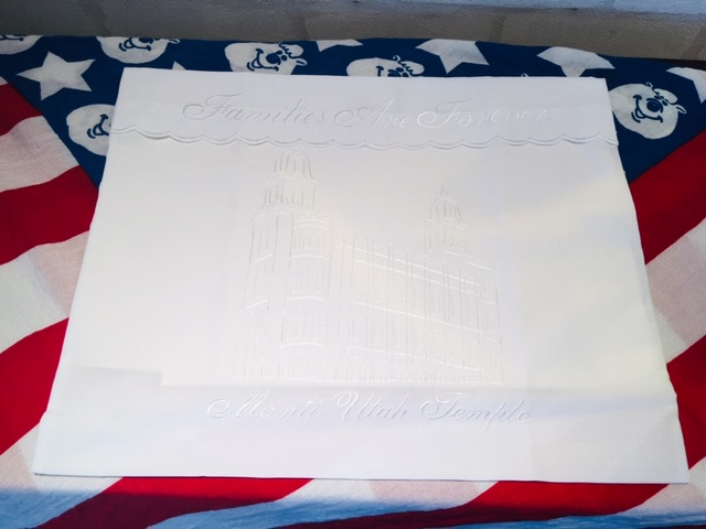 WE - Envelope - Manti Utah Temple  (Women)<BR>ローブセット袋 - マンタイ神殿 (女性用) 【在庫限り】
